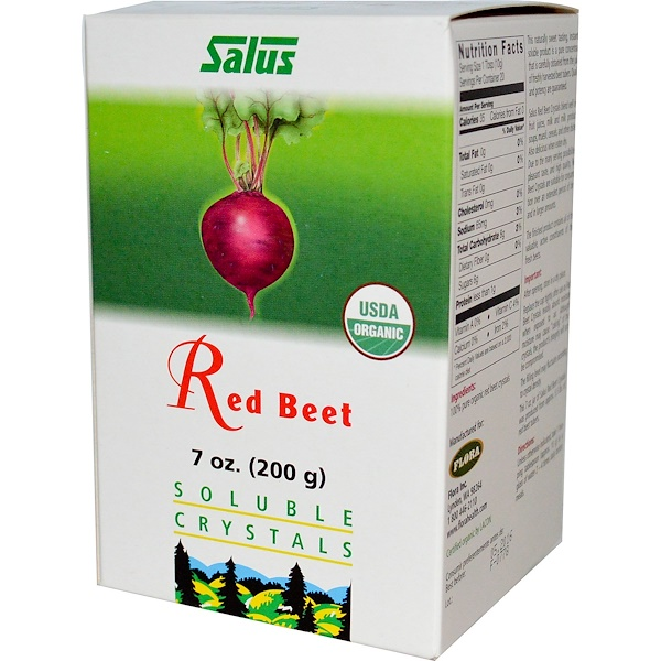 Flora, Red Beet, Soluble Crystals, 7 oz (200 g)