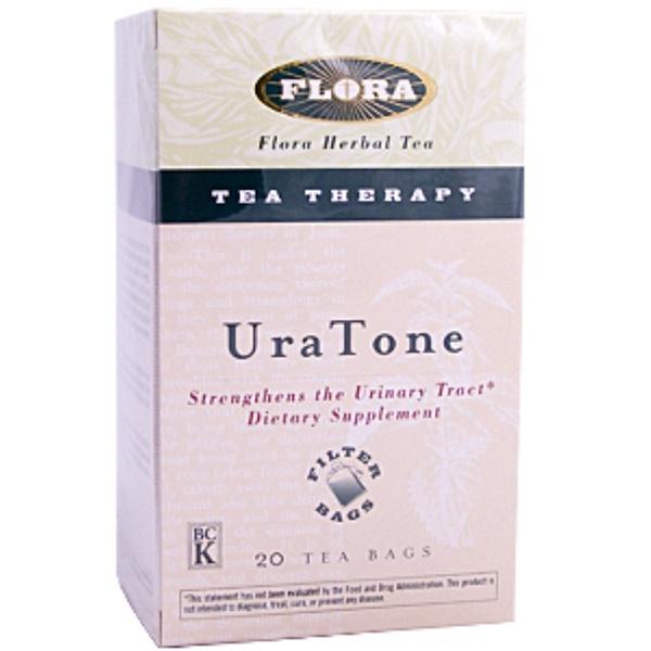 Flora, UraTone Herbal Tea, 20 Tea Bags (Discontinued Item)