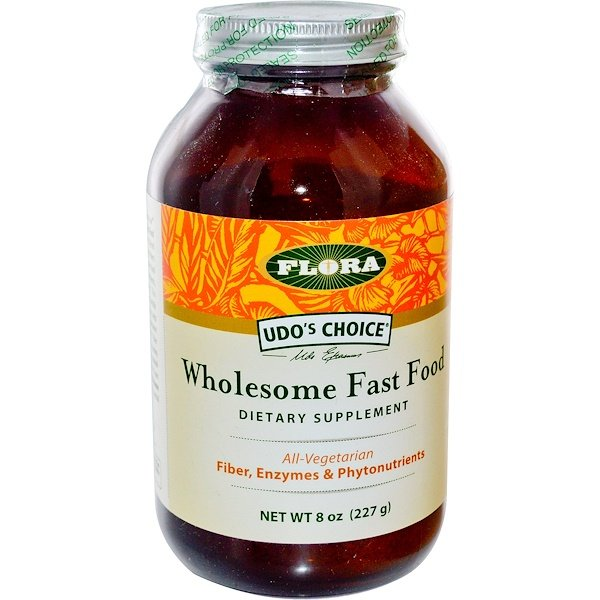 Flora, Udo's Choice, Wholesome Fast Food, 8 oz (227 g) (Discontinued Item)
