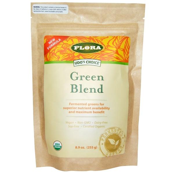 Flora, Organic, Udo's Choice, Green Blend, 8.9 oz (255 g) (Discontinued Item)