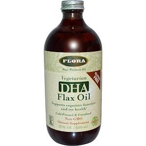 Флора, DHA Flax Oil, 17 fl oz (500 ml) отзывы