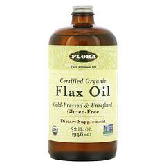 Flora, 認可有機亞麻油,32 液量盎司(946 毫升)
