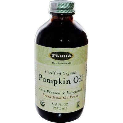 Сертифицированное натуральное тыквенное масло, 8.5 жидких унций (250 мл)