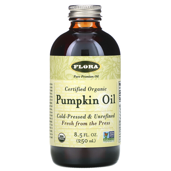 Certified Organic Pumpkin Oil, 8.5 fl oz (250 ml)