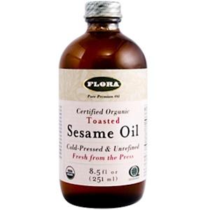 Флора, Sesame Oil, Toasted, 8.5 fl oz (250 ml) отзывы