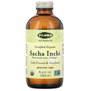 Флора, Certified Organic Sacha Inchi, 8.5 fl oz (250 ml) отзывы покупателей