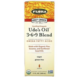 Flora,  Udo's Oil 3-6-9 Blend, 17 fl oz (500 ml)