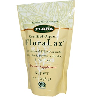 Flora, Certified Organic FloraLax, 7 oz (198 g)