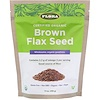 Certified Organic, Brown Flax Seed, 14 oz (396 g)