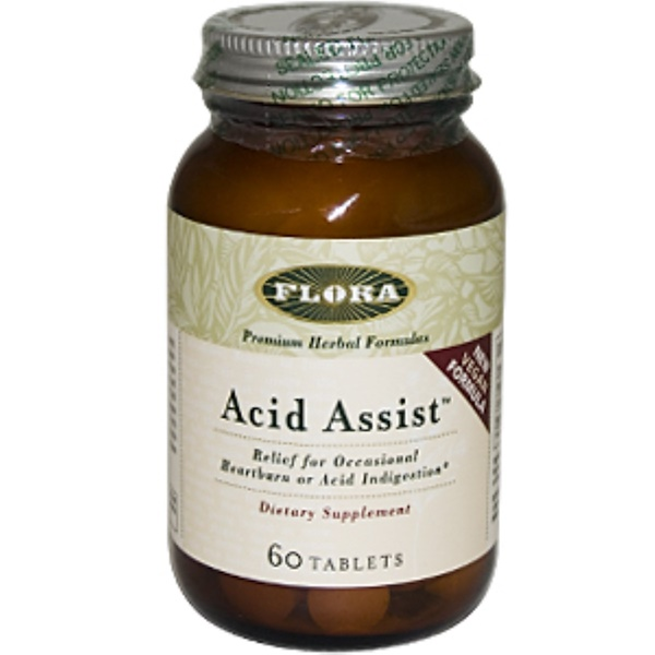 Flora, Acid Assist, 60 Tablets (Discontinued Item)