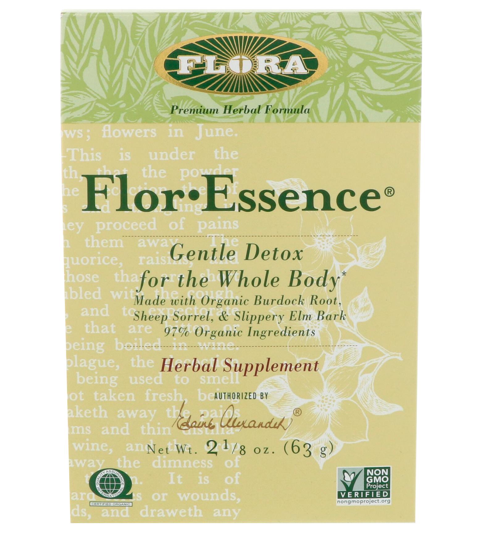Flora, flor·essence, 7 дневная программа очищения, 3 средства.