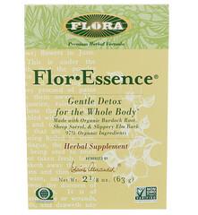 Flora, 弗洛酵母·精華,全身溫和清體,21/8盎司(63克)