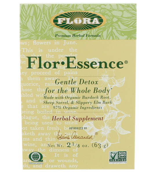 Flor·Essence, Gentle Detox for the Whole Body, 2 1/8 oz (63 g)
