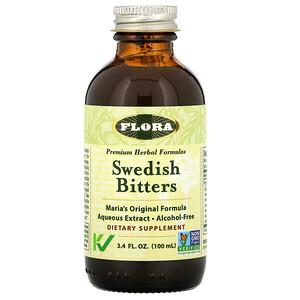 Флора, Swedish Bitters, Alcohol-Free, 3.4 fl oz (100 ml) отзывы