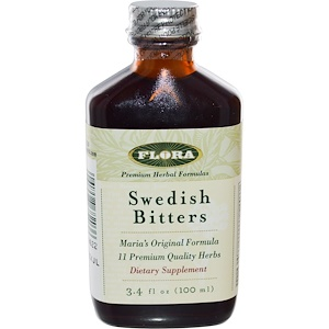 Флора, Swedish Bitters, 3.4 fl oz (100 ml) отзывы