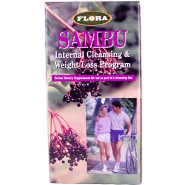 Flora, Dr. Dunner Sambu Internal Cleansing & Weight Loss Program, 5 Day Program (Discontinued Item)
