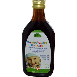 Flora, Dr. Dunner, Sambu Guard for Kids, Alcohol Free, 5.9 fl oz (175 ml)