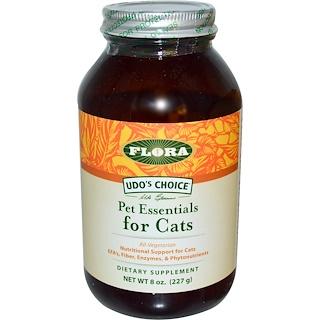 Flora, 우도스 초이스, 펫 에센셜 고양이용, 8 온스 (227 g)