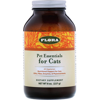 Flora, Pet Essentials for Cats, 8 oz (227 g)