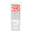 Formula 10.0.6, Three Times Sublime, 3 in 1 Blackhead Wash + Scrub + Beauty Mask, Pink Grapefruit + Jojoba, 3.4 fl oz (100 ml)