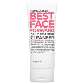 Formula 10.0.6, Best Face Forward, Daily Foaming Cleanser, 5 fl oz (150 ml)