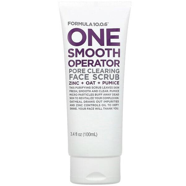 One Smooth Operator, Pore Clearing Face Scrub, 3.4 fl oz (100 ml)