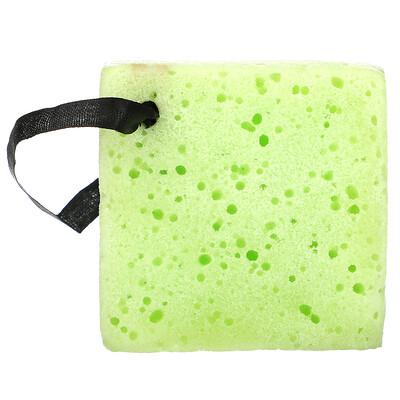 Купить Freeman Beauty Deep Cleansing Soap-Infused Sponge, Green Tea, 1 Sponge, 2.65 oz (75 g)