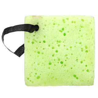 Freeman Beauty, Deep Cleansing Soap-Infused Sponge, Green Tea, 1 Sponge, 2.65 oz (75 g)