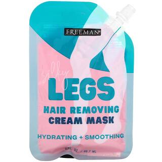 Freeman Beauty, Silky Legs, Hair Removing Cream Mask, 3 fl oz (88.7 ml)