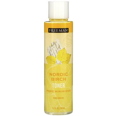 Купить Freeman Beauty Nordic Birch Toner, Pore Minimizer, Shine Control, 6.1 fl oz (180 ml)