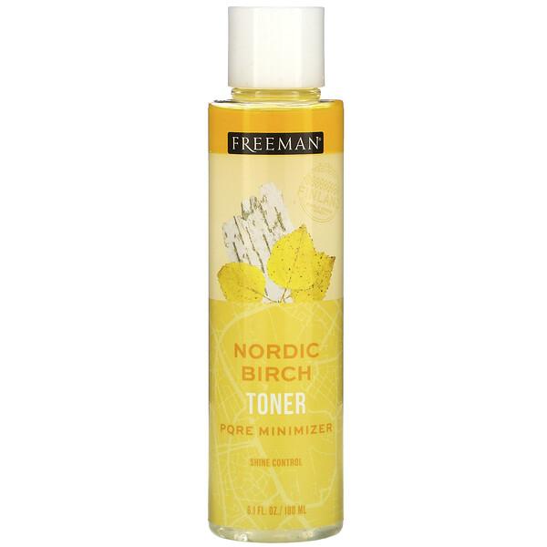 Nordic Birch Toner, Pore Minimizer, Shine Control, 6.1 fl oz (180 ml)