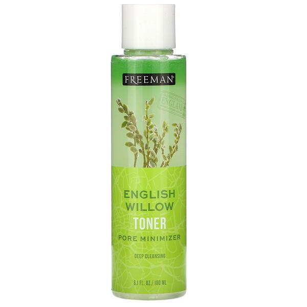 English Willow Toner, Pore Minimizer, Deep Cleansing, 6.1 fl oz (180 ml)