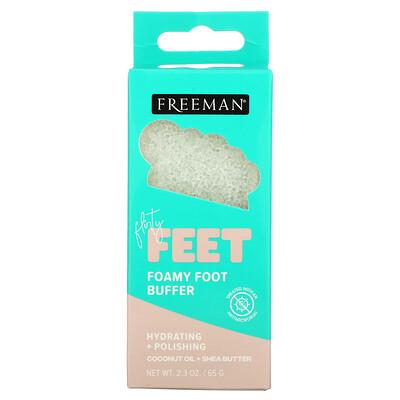 Купить Freeman Beauty Flirty Feet, Foamy Foot Buffer, 2.3 oz (65 g)
