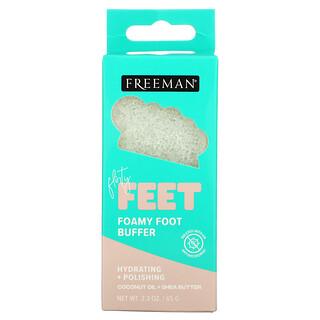 Freeman Beauty, Flirty Feet, Foamy Foot Buffer, 2.3 oz (65 g)