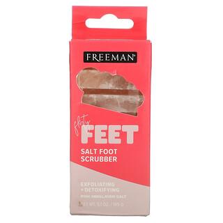 Freeman Beauty, Flirty Feet, Salt Foot Scrubber, 5.1 oz (145 g)