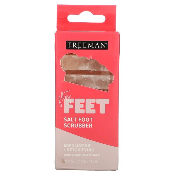 Flirty Feet,加鹽足部清潔劑,5.1 盎司(145 克)