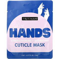 Freeman Beauty, Silky Hands,角質層去除膜,1 對,0.17 液量盎司(5 毫升)