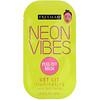 Freeman Beauty, Neon Vibes، للحصول على بشرة مشرقة، قناع الجمال القابل للتقشير لتفتيح البشرة، قناع واحد، 0.33 أونصة سائلة (10 مل)