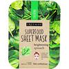 Freeman Beauty, Superfood Beauty Sheet Mask, Brightening Spinach, 1 Mask, 0.84 fl oz (25 ml)
