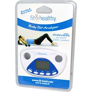 Фит и Фрэш, Fit & Healthy, Body Fat Analyzer, 1 Analyzer отзывы