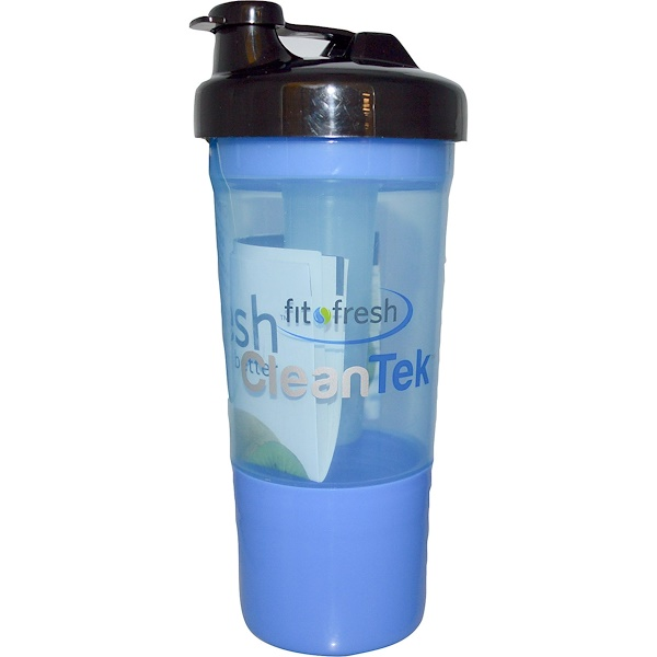 Fit & Fresh, CleanTek, Shaker Cup with Ice Wand Agitator & Storage Cup, 1 Cup (Discontinued Item)