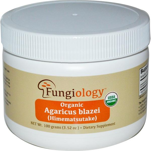 Fungiology, Органический Агарик Бразильский (Химемацутаки), 3.52 унции (100 г) (Discontinued Item)
