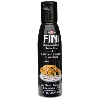 FINI, Reduction of Balsamic Vinegar of Modena with Truffle, 5.1 fl oz (150 ml)