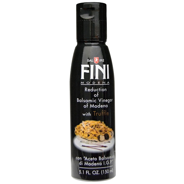 FINI, Reduction of Balsamic Vinegar of Modena, With Truffle, 5.1 fl oz (150 ml)