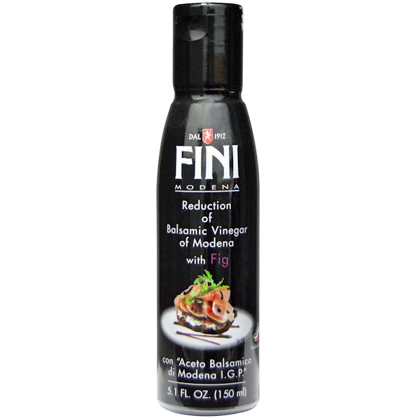 Fini Modena, Balsamic Vinegar of Modena with Fig, 5.1 fl oz (150 ml) (Discontinued Item)