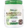 Fit & Lean, Растительный протеин, шоколадная помадка, 565,5г