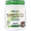 Fit & Lean, 植物性プロテイン、チョコファッジ、565.5g