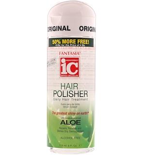 Fantasia, IC, Hair Polisher, Daily Hair Treatment, Aloe, 6 fl oz (178 ml)