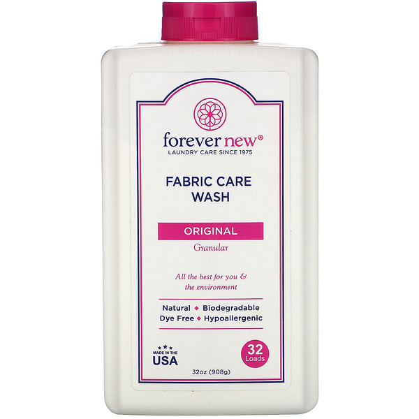 Fabric Care Wash, Granular, Original, 32 oz (908 g)