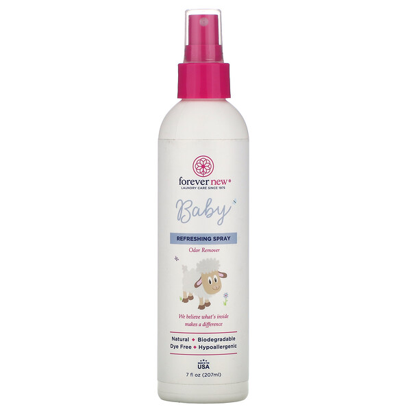Baby, Refreshing Spray, Odor Remover,  7 fl oz (207 ml)